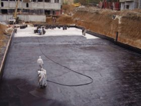 Гидроизоляция фундаментной плиты 2
